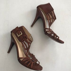Cole Haan Leather Strappy Sandals Heels